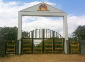 Gate del villaggio