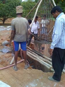 01-08-2013 - Dettaglio costruzione di una colonna del Gate