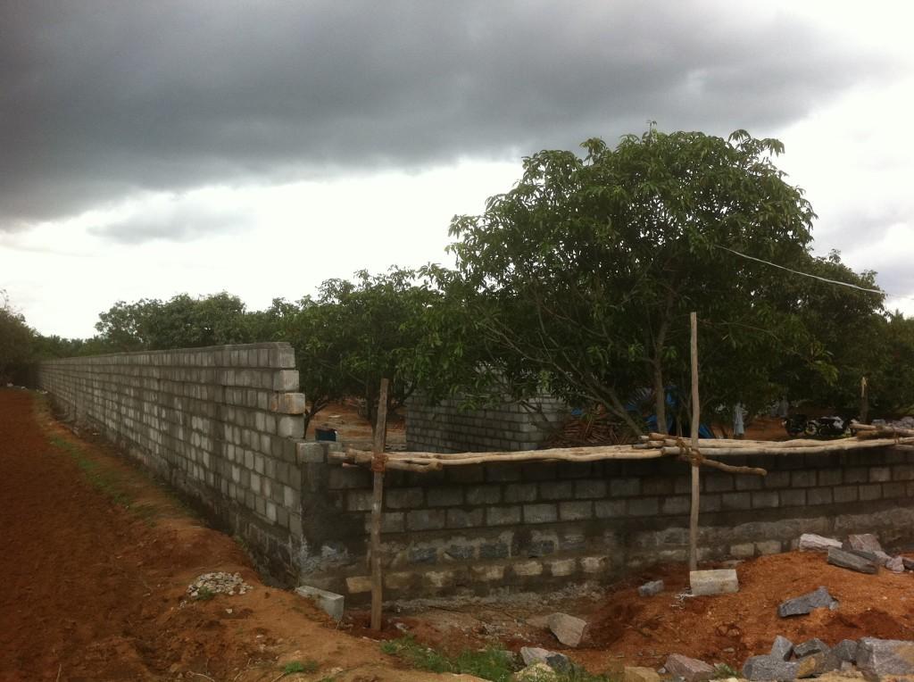 10-08-2013 - Dettaglio delle mura di cinta