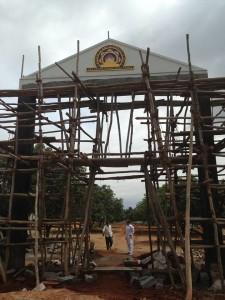 18-08-2013 - Costruzione del Gate del Villaggio