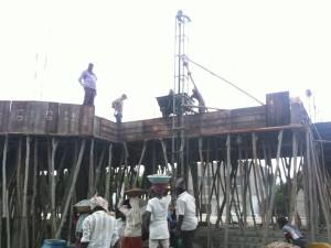 05-07-2014 - Lavori di costruzione del tempio