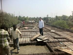 05-07-2014 – Lavori di costruzione del tempio