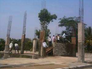 06-04-2014 - Lavori di costruzione del tempio