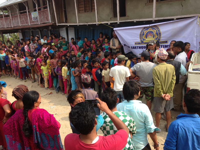 Humanitarian Mission to Nepal - May 2015