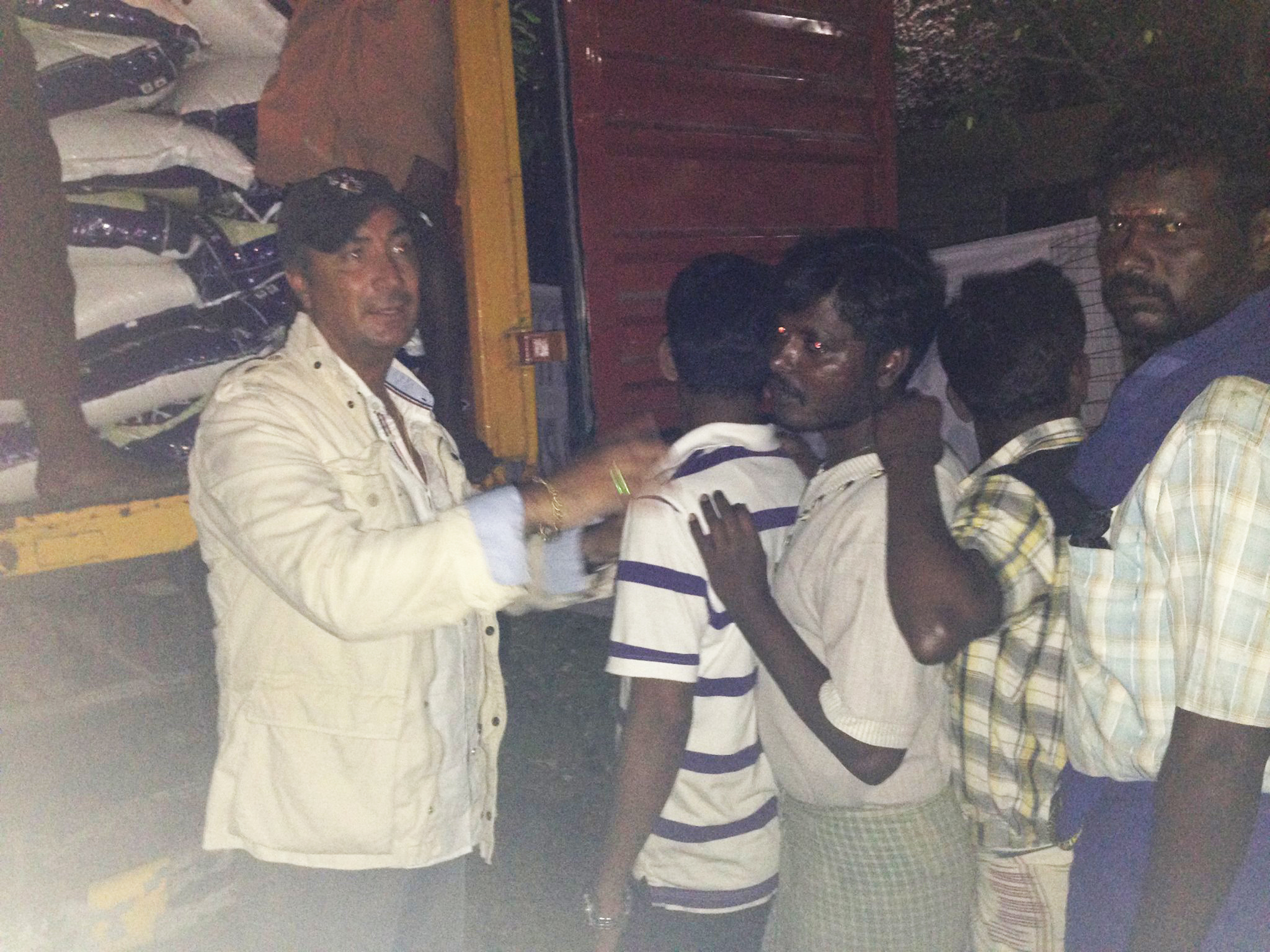 Humanitarian Mission to Chennai, December 15, 2015